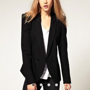 ASOS Jackets & Coats - ASOS Tailored Blazer with power shoulders
